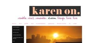 Karen On - Screenshot