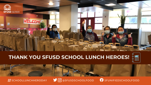 Thank You School Lunch Heroes - TWFBLI